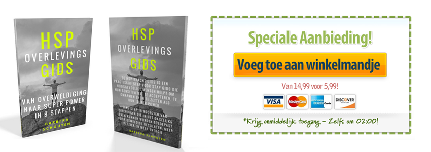 HSP Overlevingsgids: Van Overlwediging naar Super Power in 9 stappen.