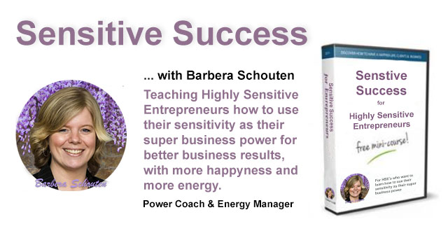 Gratis Mini cursus Sensitive Success
